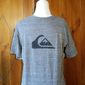 QUICKSILVER Gray T-shirt NWT